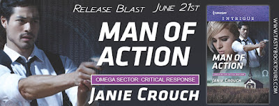 Release Blast & Giveaway: Excerpt from Man of Action by Janie Crouch