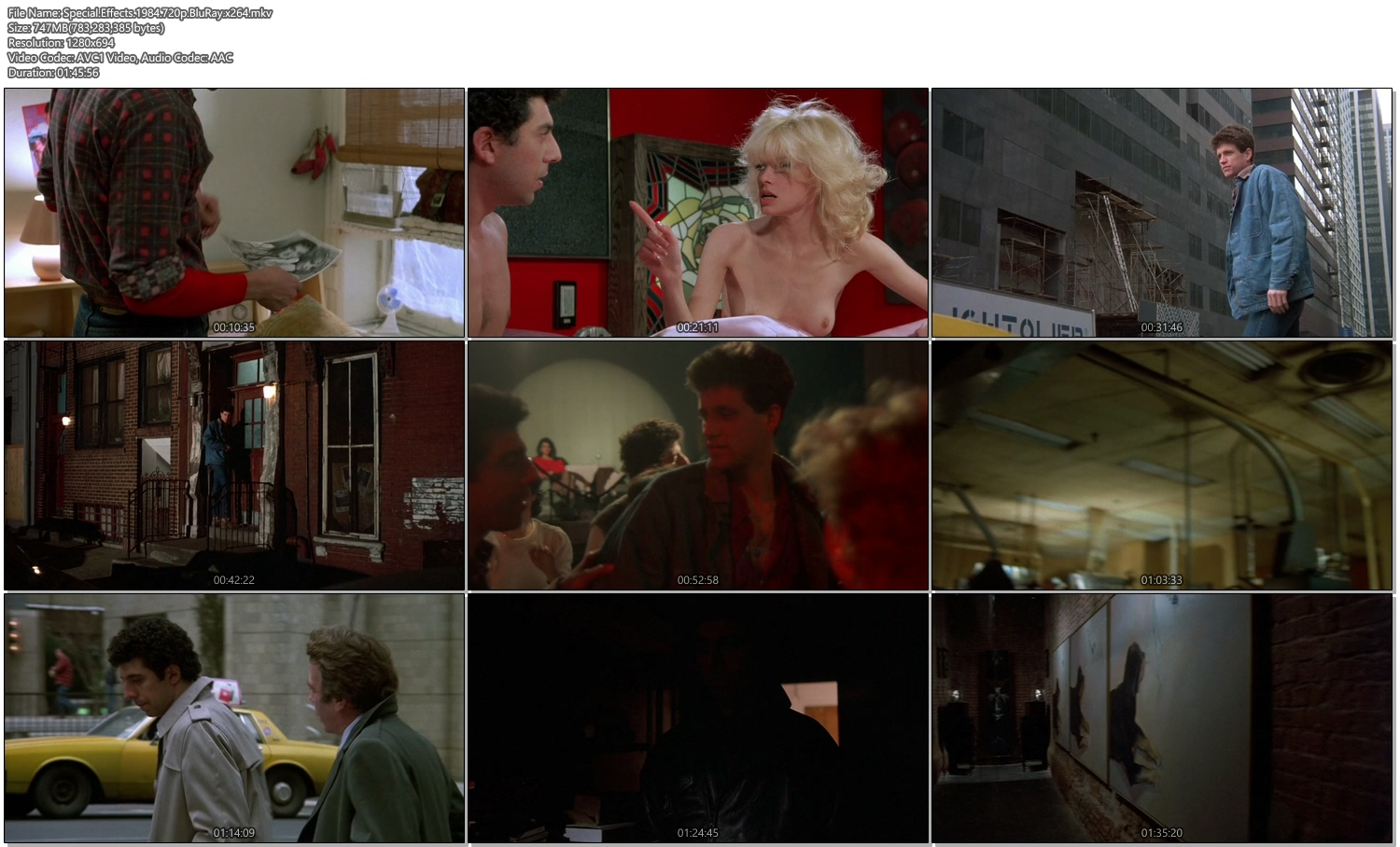Special Effects 1984 720p BluRay 750MB x264 Movie Screenshots