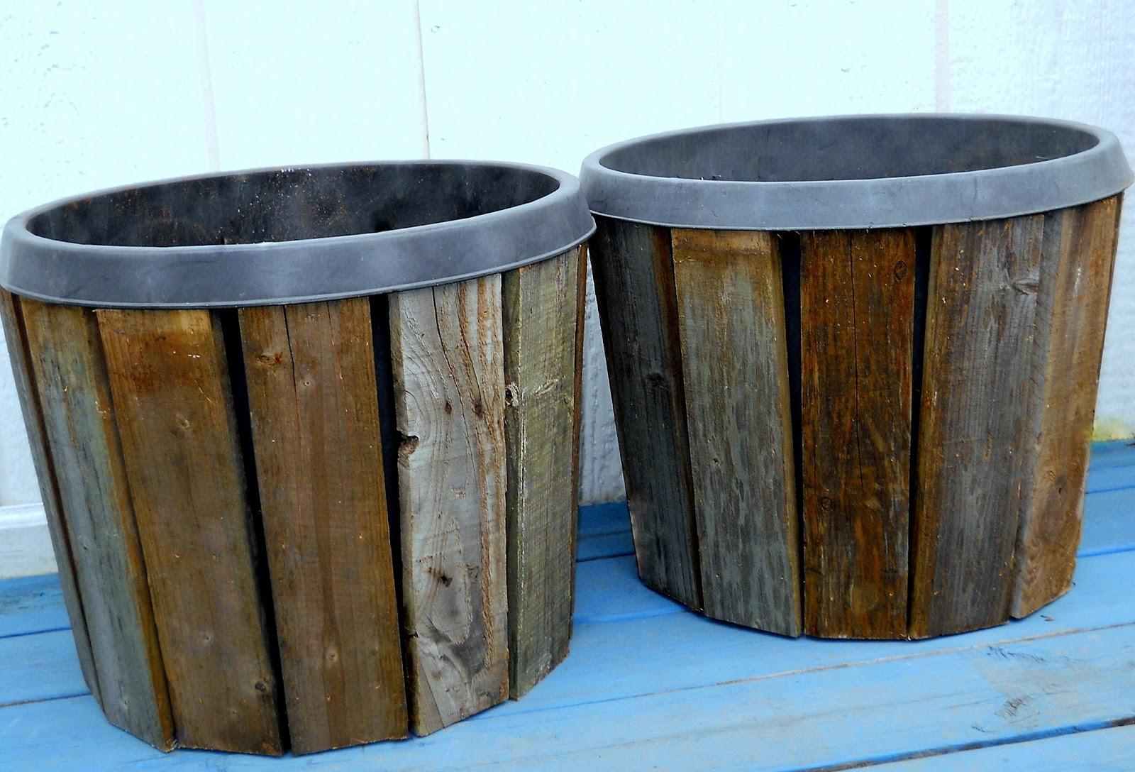 Pallet Wood Planter Covers Part 2