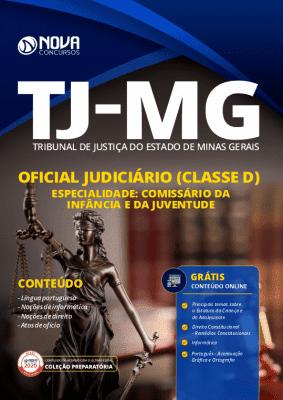Apostila Concurso TJ MG 2020 Oficial Judiciário Comissário da Infância e da Juventude Grátis Cursos Online
