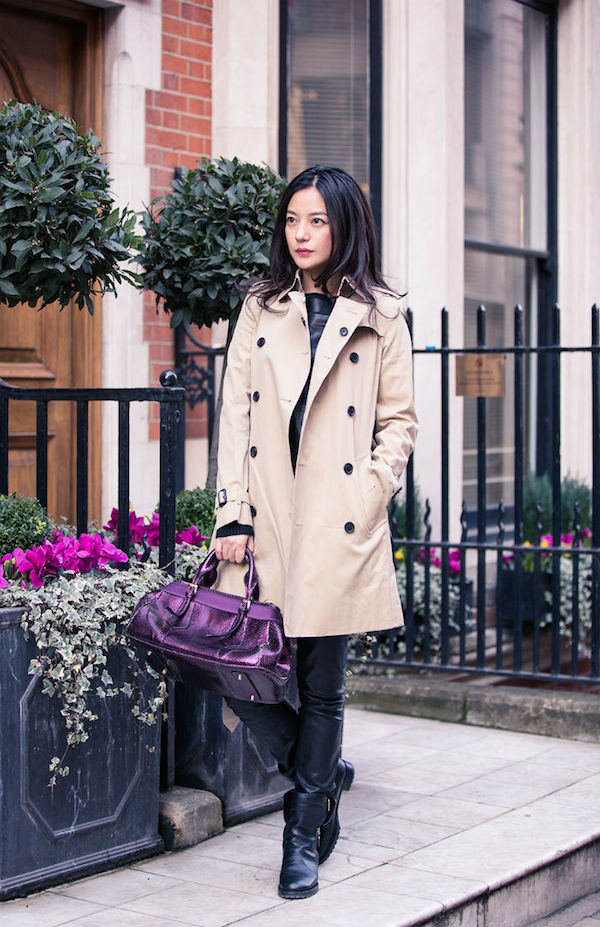 Zhao Wei Burberry Art Of The Trench