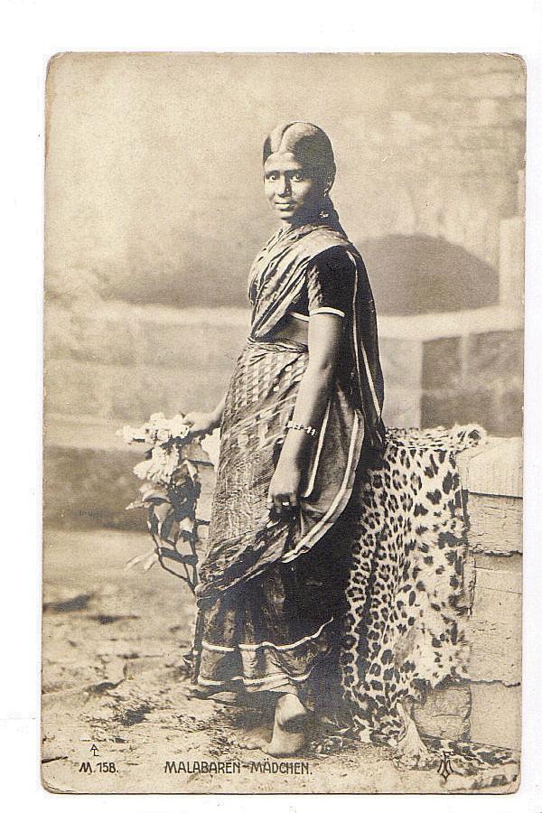Malabar Woman  - 1915