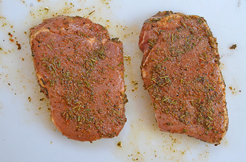 Smithfield Roasted Garlic and Herb Pork Chops