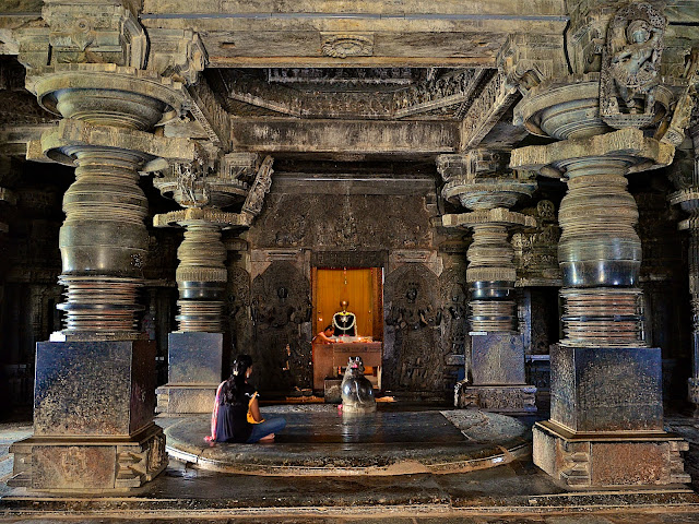 Hoysaleswara temple. Halebidu. Karnataka. India