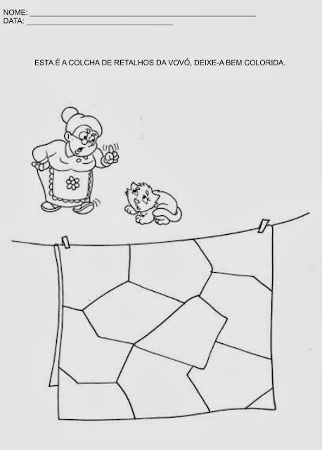 atividades de artes para educação infantil. São atividades com desenhos para colorir e para decorar.