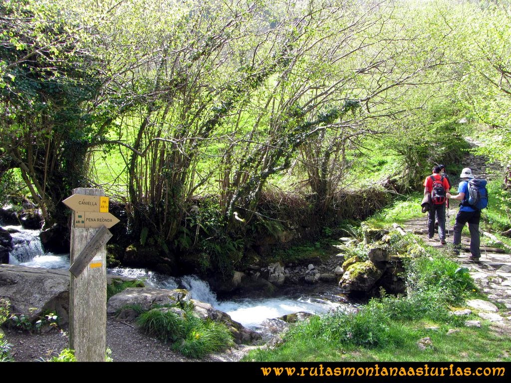 Ruta Peña Redonda: Cruce hacia peña Redonda