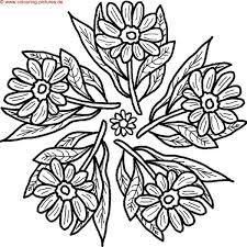 √ Malvorlagen blumen ranken kostenlos - X - Claudia Schiffer