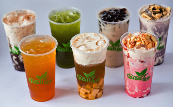 Qualitea milk teas - Bacolod restaurant