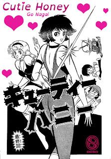 """""""Cutey Honey"""" licenciada por Ooso Comics."""