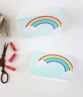 rainbow birthday printables