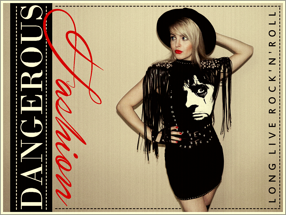 80s Fashion, Rock and Roll Style, Glam Rock Outfit, DIY, Handmade, Inspirations