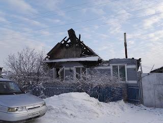 19 декабря произошел пожар в селе Курьи по улице Воровского