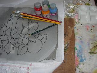 como fazer pintura em tecido