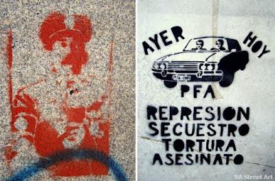 Γκράφιτι εναντίον της χούντας στην Αργεντινή 2