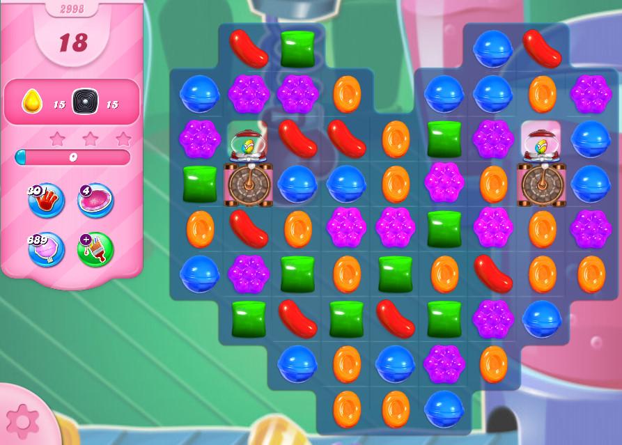 Candy Crush Saga level 2998