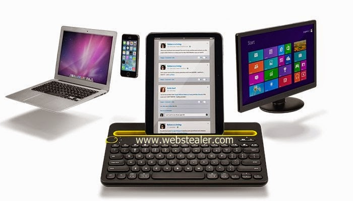 keyboard with devices