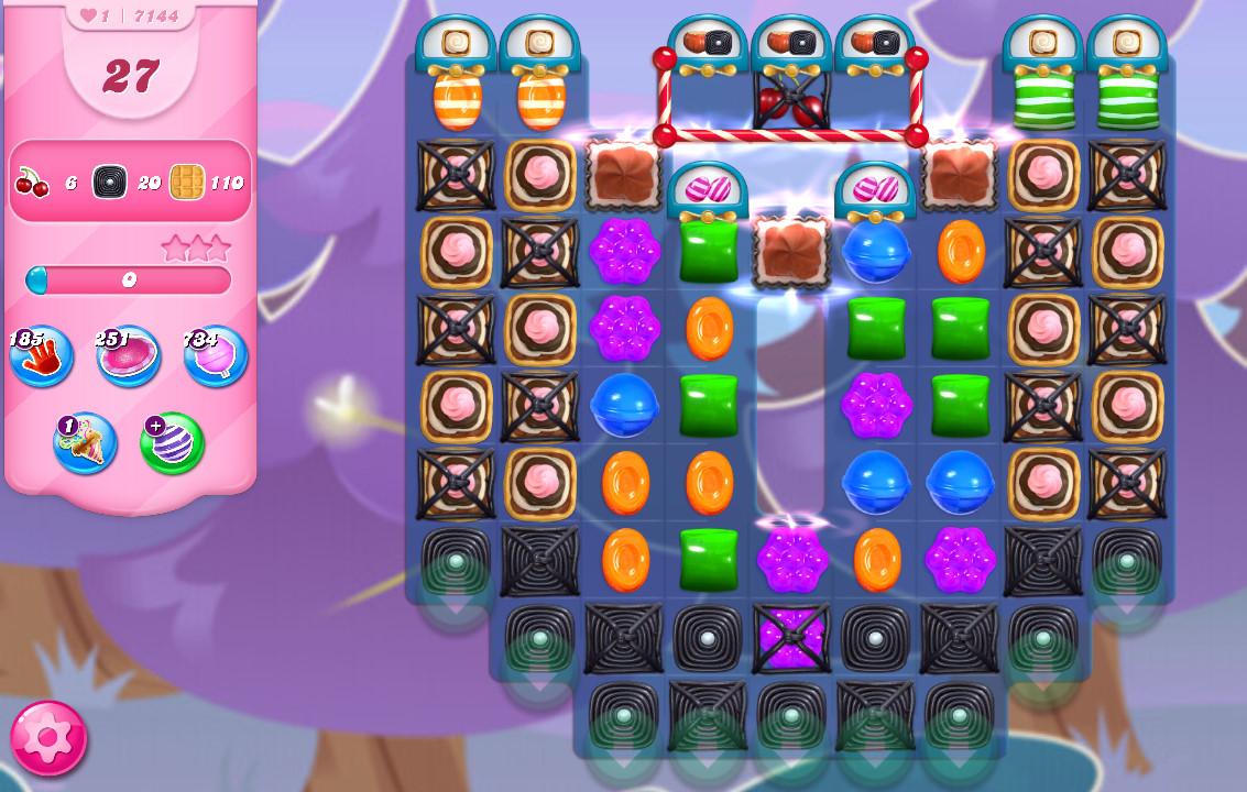 Candy Crush Saga level 7144