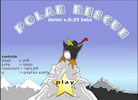 Help this brave #Penguin rescue his buddies in #Polar rescue! #WinterFlashGames #WinterGames #Miniclip