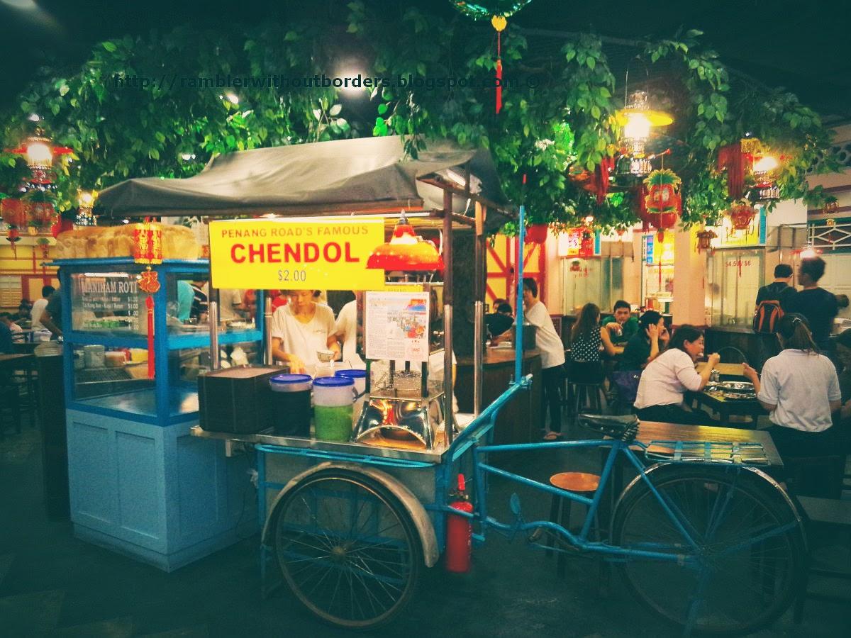 Mobile street hawker stall, Malaysia Boleh, Jurong Point shopping mall, Singapore