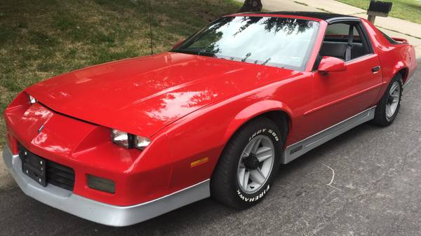 Daily Turismo: Bitchin' Camaro: 1988 Chevy Camaro V8 5-Speed