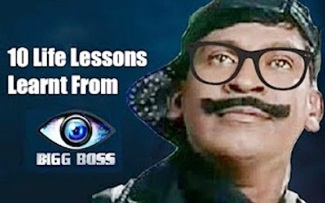 10 Life Lessons Learnt From Bigg Boss – Vadivelu Version | Video Memes