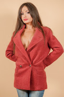 Palton Iarna Dama • Bershka