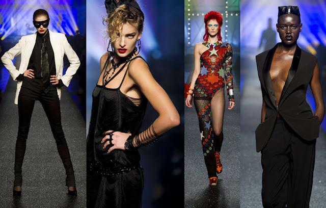 Gaultier runway show