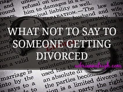 divorce emotions separation marriage