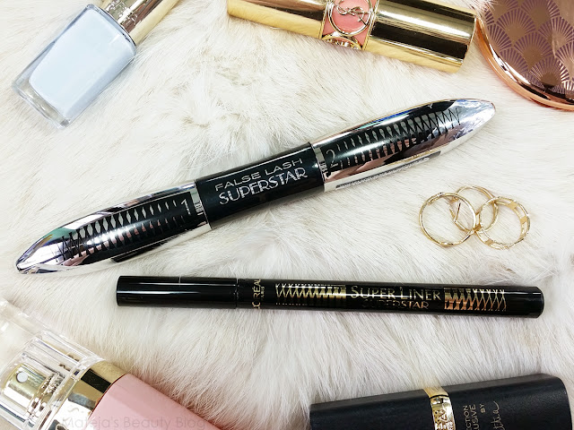 L'Oreal Superstar False Lash Mascara and Super Slim Eyeliner