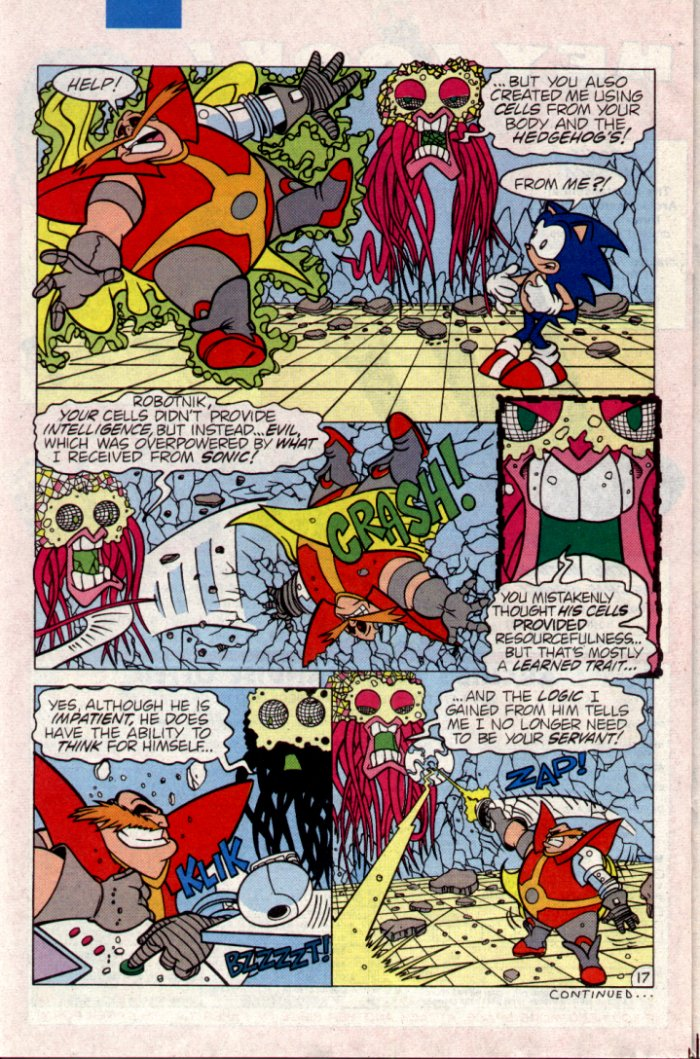 Read online Sonic The Hedgehog comic -  Issue #21 - 19