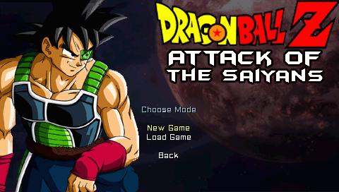 Dragon Ball Z: Attack of the Saiyans (EUR) Screenshots #1