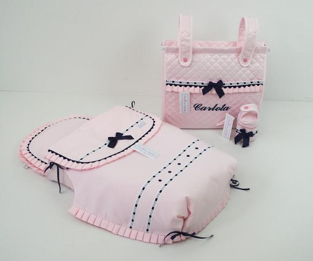 colcha capazo peg perego rosa marino