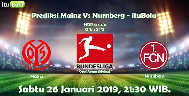 Prediksi Mainz Vs Nurnberg - ituBola