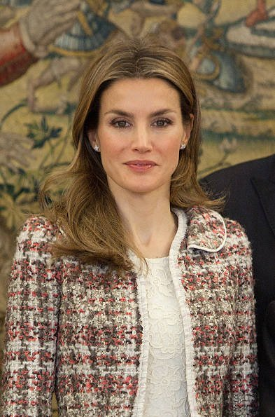 Crown Princess Letizia attended an audience with representatives of the new Board of the Spanish Federation for Rare Diseases