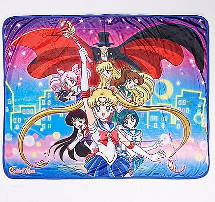 Birthday Wishlist: 5 Sailor Moon Items I Really Want blanket