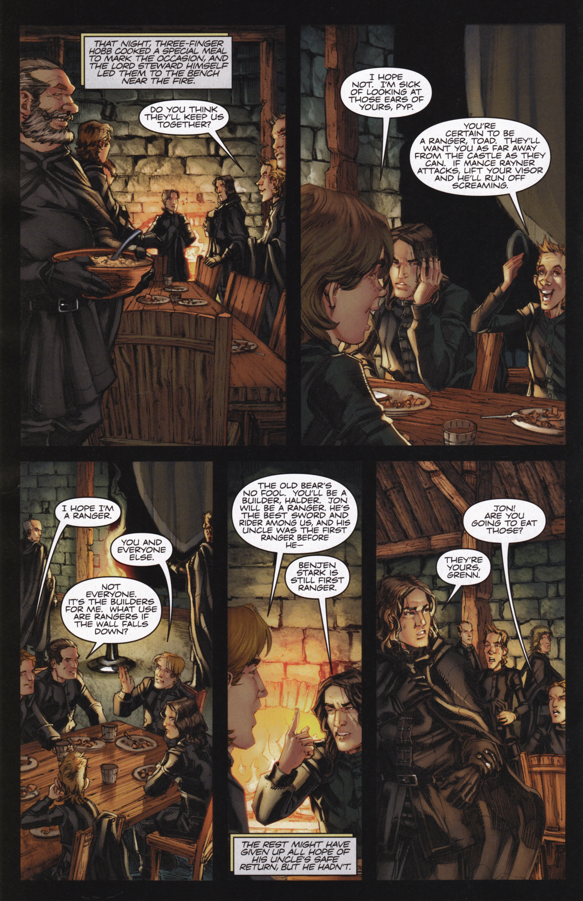 Read online A Game Of Thrones comic -  Issue #13 - 12