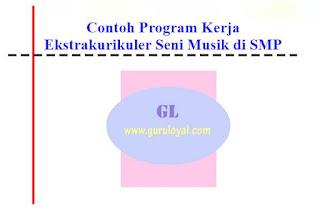 Contoh Program Kerja Ekstrakurikuler Seni Musik di SMP