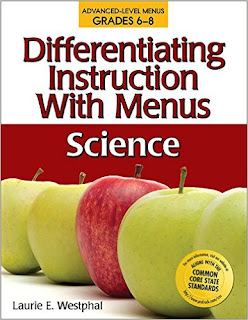 Differentiating Instruction With Menus: 6-8 Science