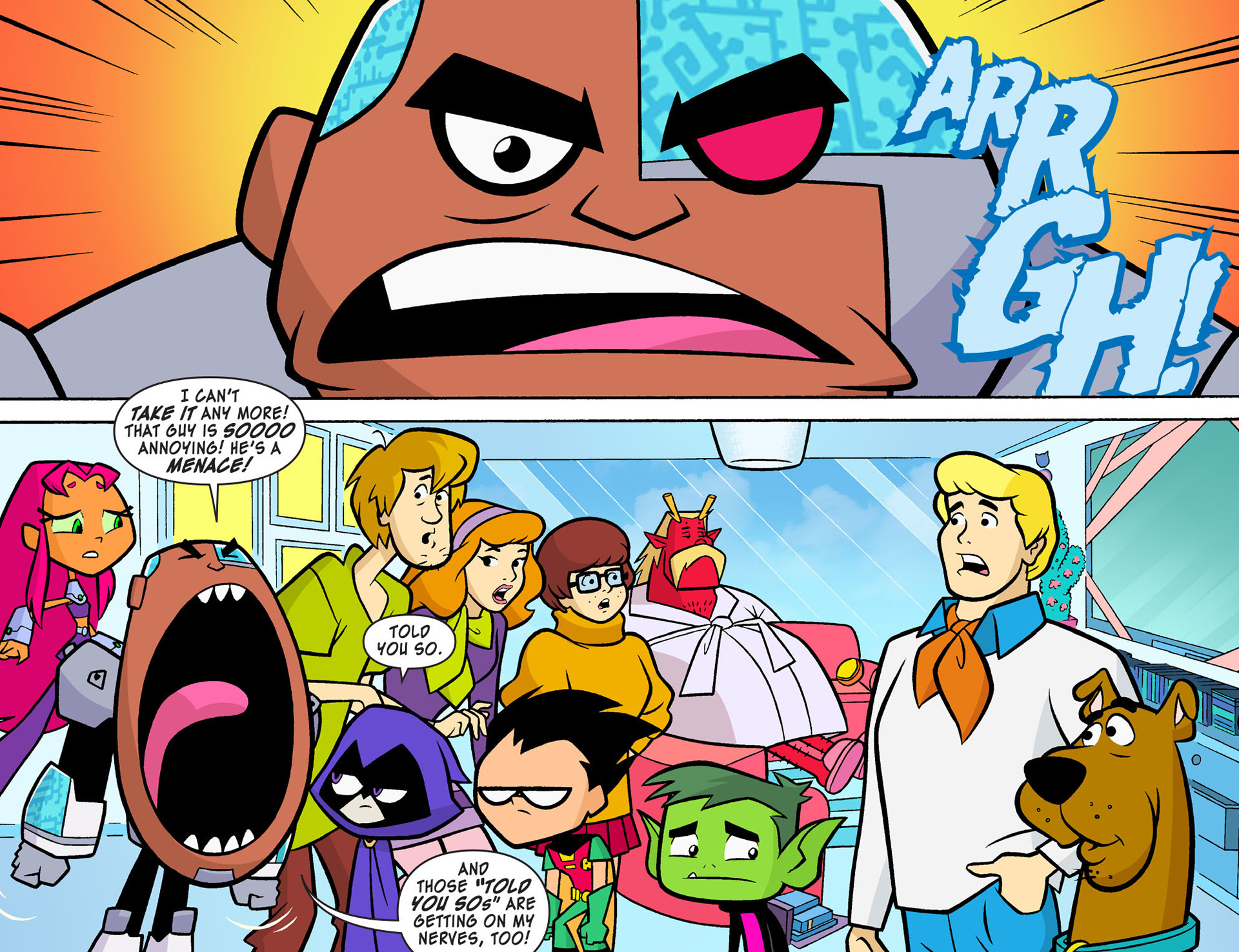 Read online Scooby-Doo! Team-Up comic -  Issue #8 - 11
