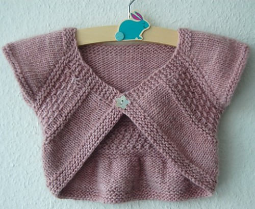 Entrechat Shrug - Knitting Pattern