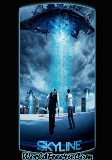 Poster Of Skyline (2010) In Hindi English Dual Audio 300MB Compressed Small Size Pc Movie Free Download Only At worldfree4u.com