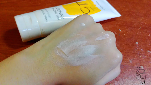 Review; Tony Moly's My Sunny All-In-One Sun SPF45 PA+++