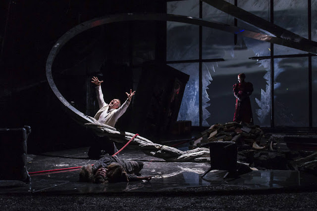 Wagner: Die Walküre - John Lundgren, Sarah Connolly - The Royal Opera ©2018 ROH. Photograph by Bill Cooper