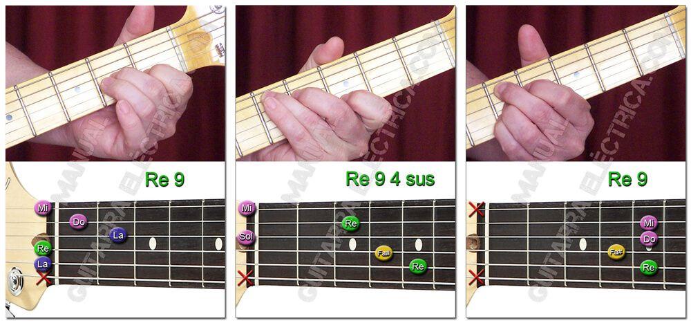 Acordes de Novena (9) para Guitarra