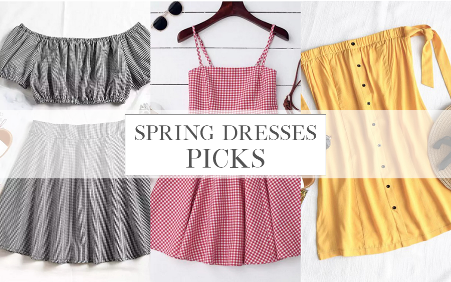 SPRING DRESSES PICKS