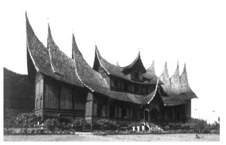Seni Bangunan, Pakaian dan Rumah Adat Kebudayaan Masyarakat Suku Minangkabau