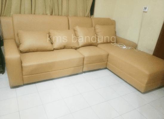 hasil perbaikan sofa ruang tamu