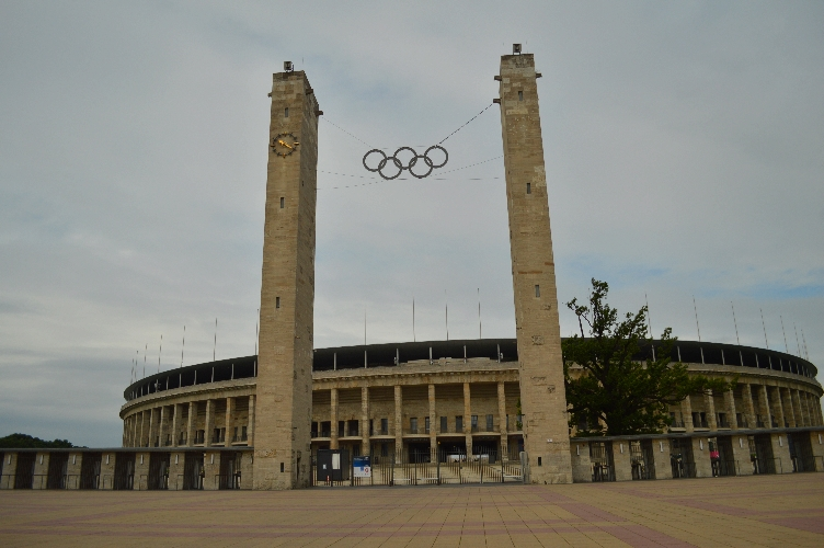 olympiastadion, berlin, 1936, olympics, hitler, germany, deutschland, quaintrelle, georgiana, quaint