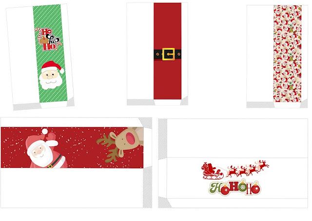 Cajas de Santa Claus para Navidad.