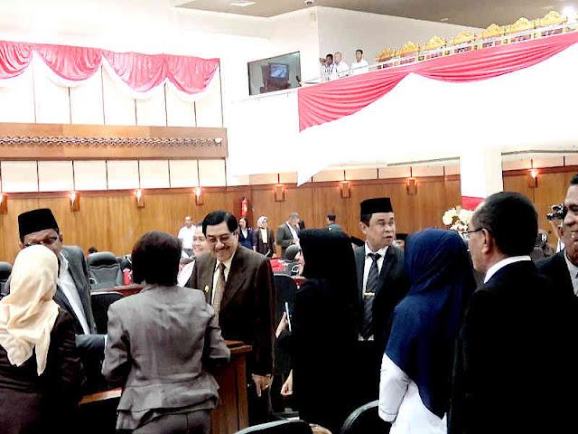 DPRD Maluku Gelar Rapat Paripurna Penetapan Murad Ismail dan Barnabas Orno